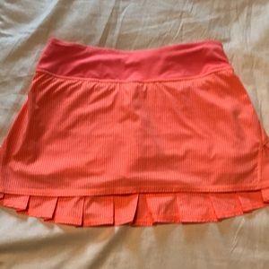 Lululemon pacesetter size 4 skirt